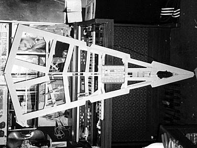 Lower hull framework