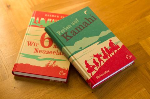 »Ferien auf Kamahi« von Esther Glen (darunter »Wir sechs aus Neuseeland«)