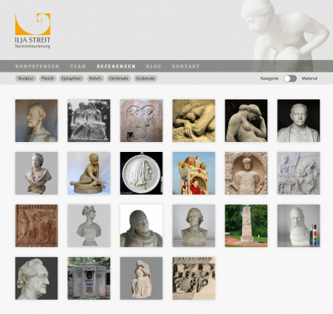 Website »Ilja Streit«