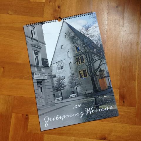 Zeitsprung Kalender 2016· Titelblatt